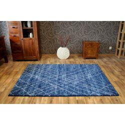 Koberec SHADOW 9367 modrý / modrý
